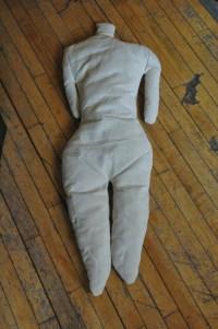 Human Torso Pillow Body Pillow Weird Unusual Home Decor