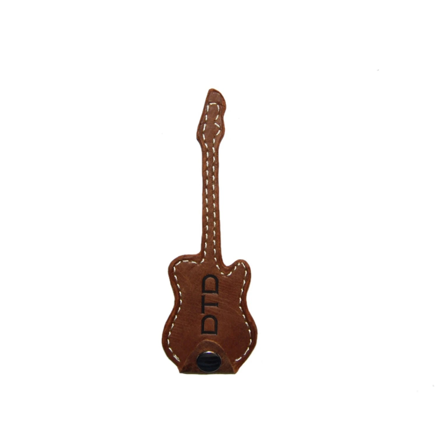 Guitar Pick Holder Guitar Pick Case Brown Personalized