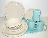Vintage Corelle 'Forever Yours' Dinnerware 18 Pieces