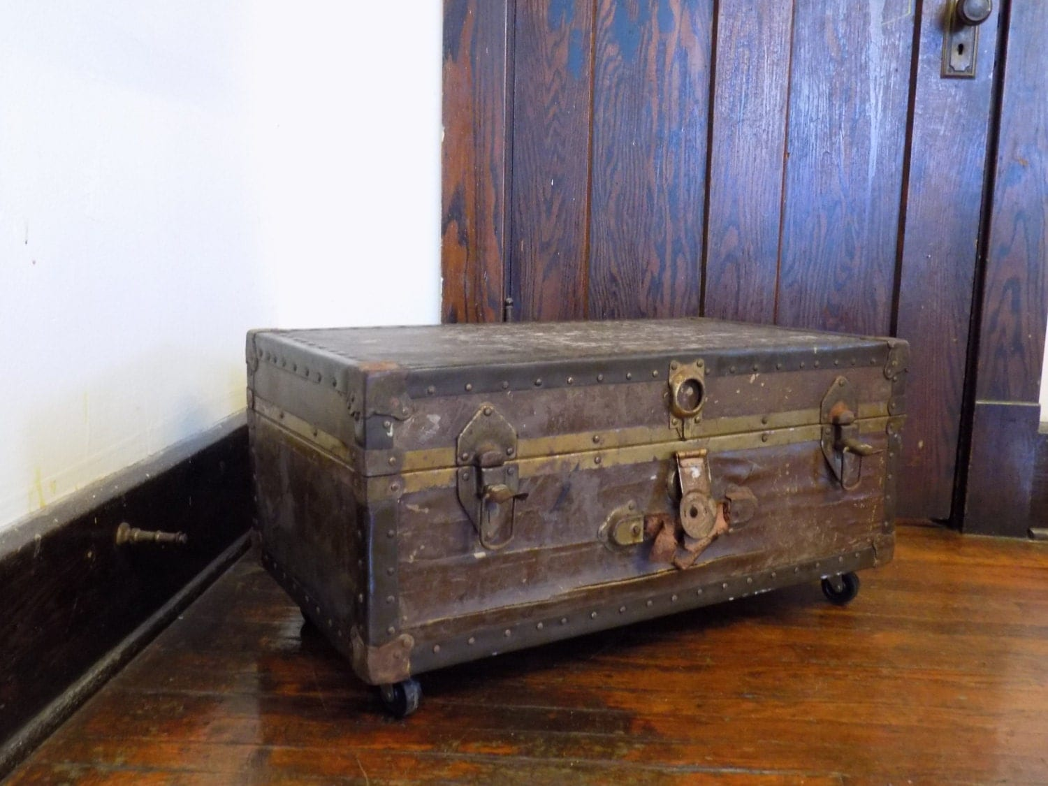 Steampunk Furniture For Sale On Sale Antique Steampunk Steamer Trunk Coffee By