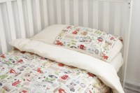 Woodland kids bedding set. Duvet cover and by chubbyABC on ...