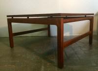 Vintage Mid Century Modern Walnut Coffee Table by Gunlocke