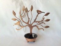 Pierced Earring Tree Earring Holder Copper Earring by ...