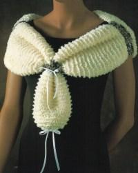 Wrap Shawl Knitting Pattern Shawl Wrap Scarf Over The ...
