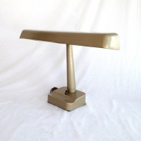 Vintage Table Lamp Fluorescent Desk Lamp Portable Light