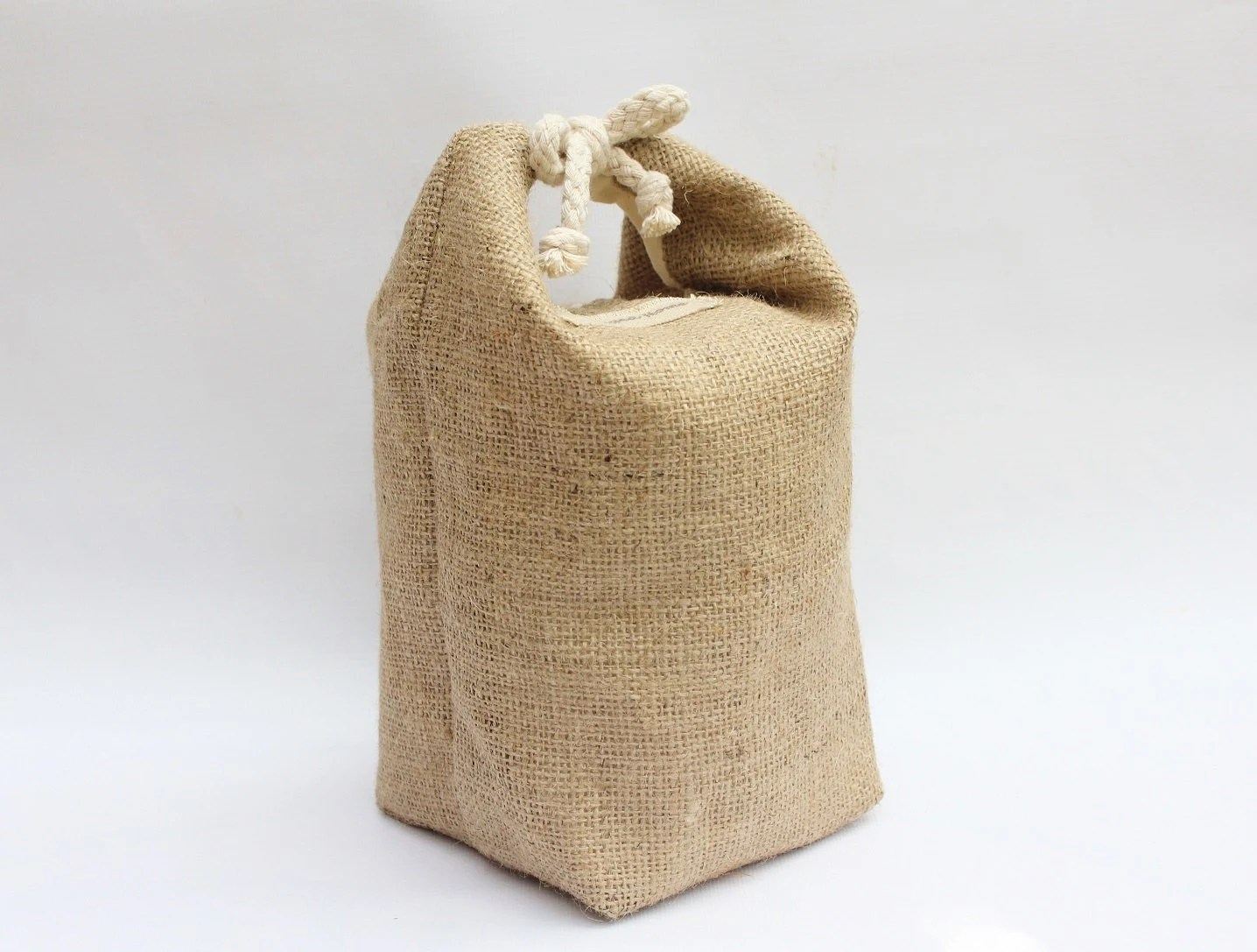 Nautical Doorstop Hessian Burlap Door Stop Nautical Coastal Country By