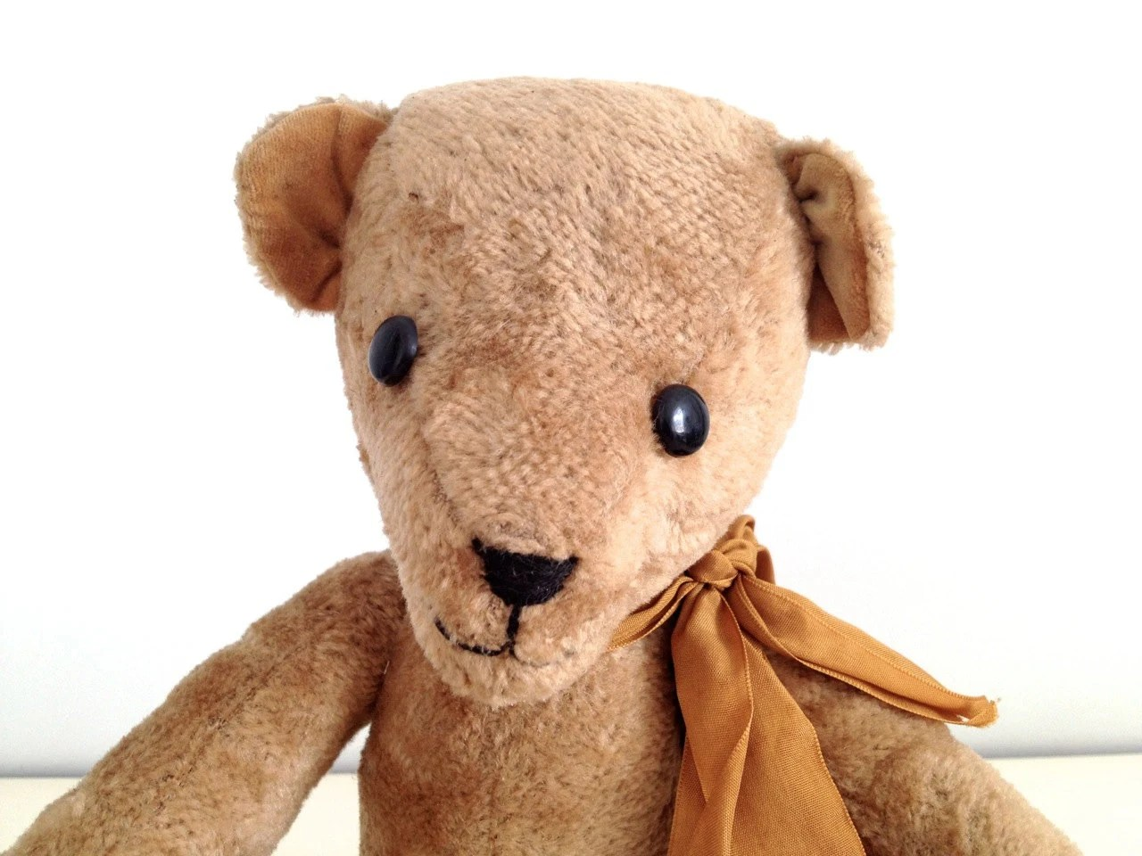 Australian Made Teddy Bears Vintage Teddy Bear Jointed Hand Made In Australia By