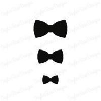 Black Tie - Mini Daisies - 24 Die Cut Felt Flowers from ...