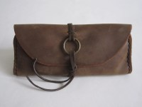Leather Tobacco Pouch Stash Bag Pipe Bag Smoking