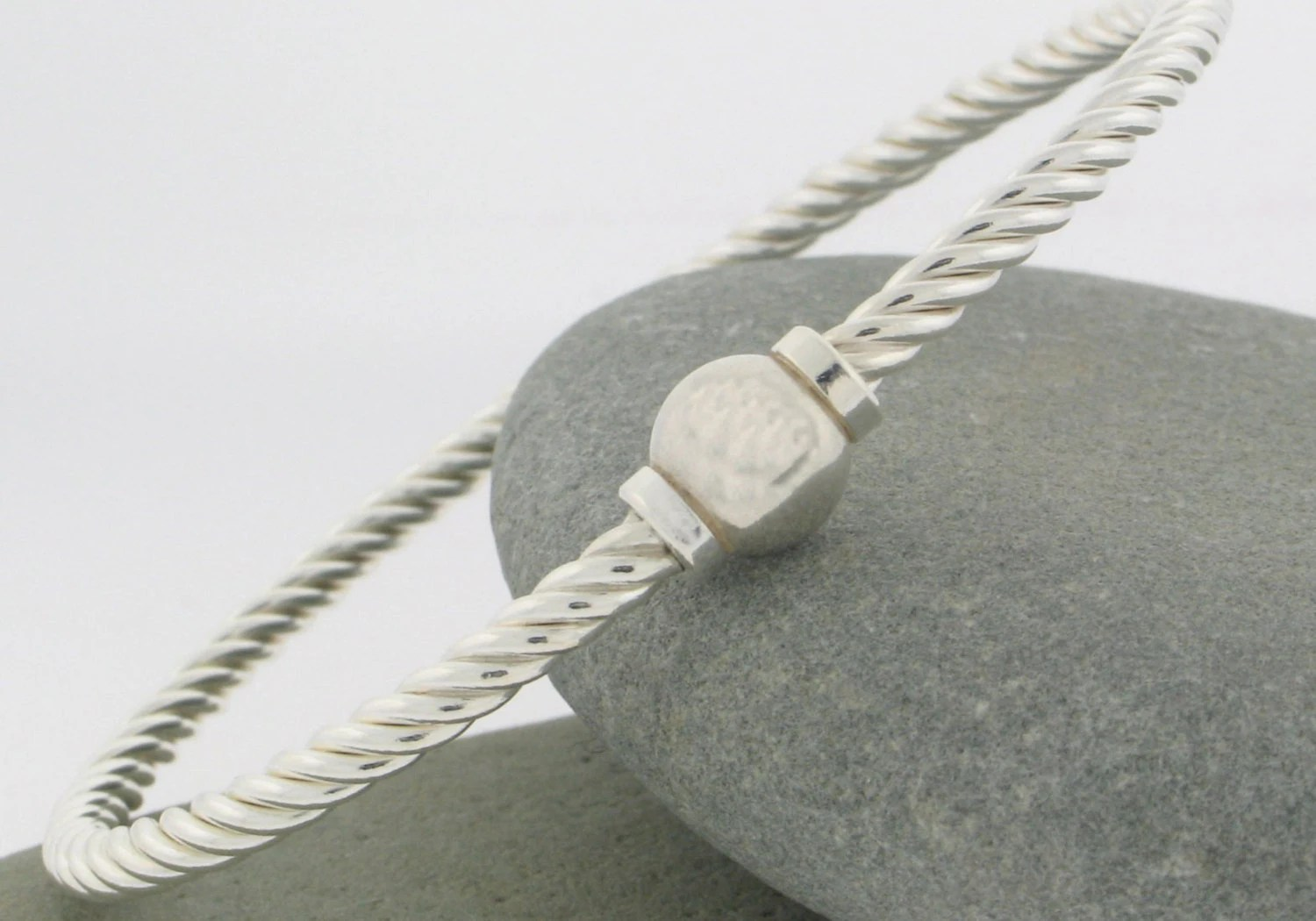 Cape Cod Twist Bracelet In Sterling Silver Made And Sold On