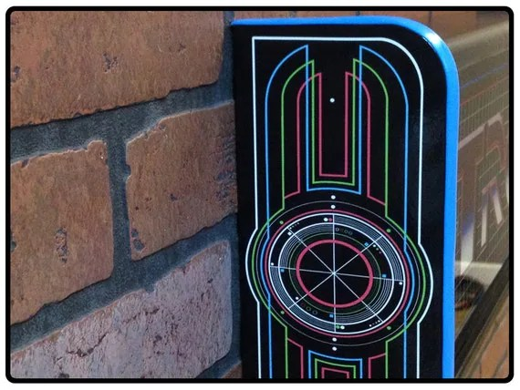 Tron Arcade Marquee Light Box By Elbowroominnovations On Etsy