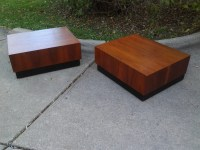 end tables mid century modern original Adrian by artiques71