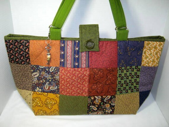 Scrappy Yarn Holder Tote Bag