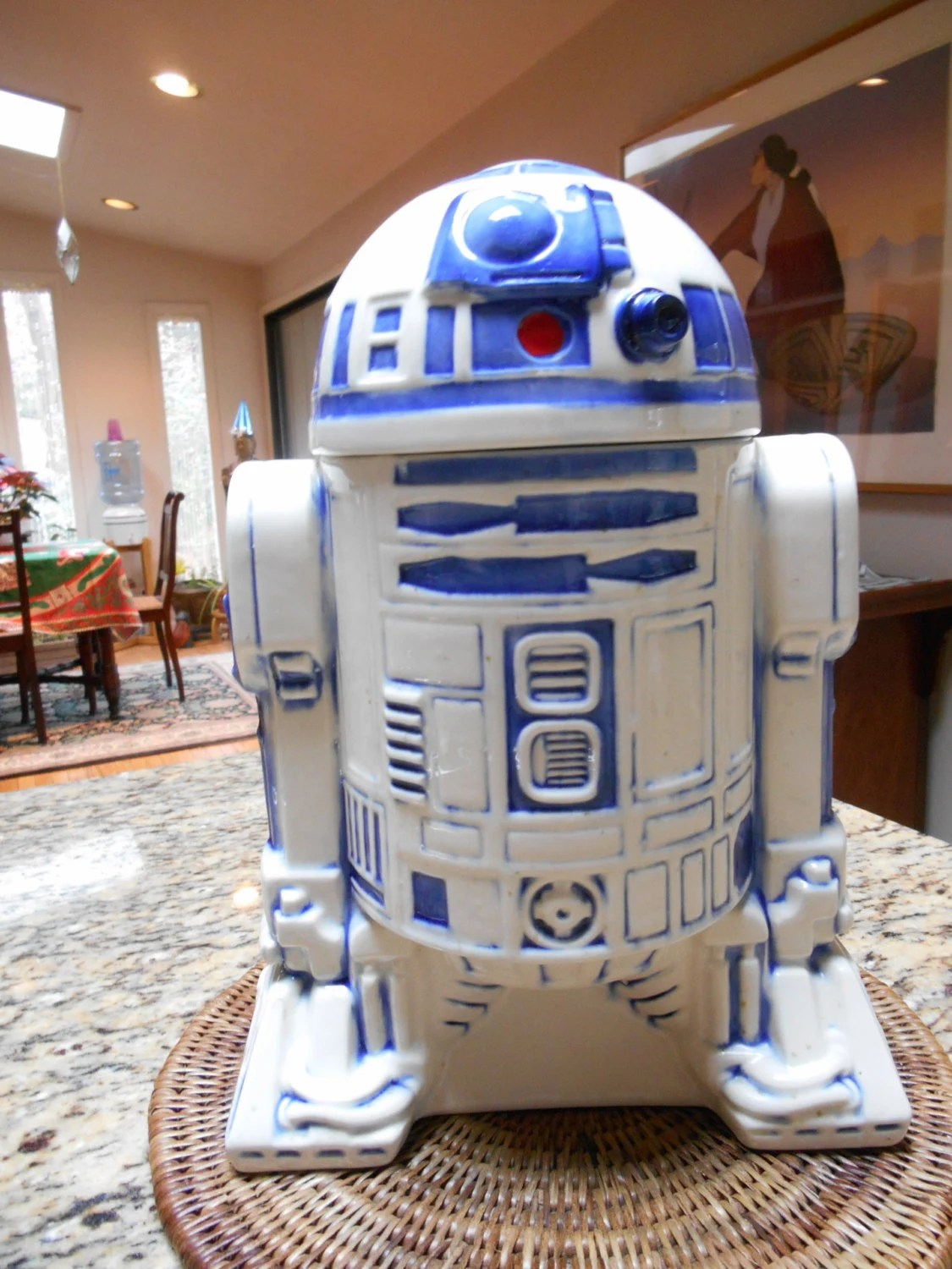 Star Wars Cookie Jars Rare Fox Film 1977 Star Wars R2d2 Ceramic Cookie Jar