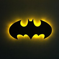 batman night light  Etsy