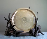 Driftwood Sculptural Plate Display Decorative Plate Holder