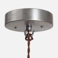 Ceiling Canopy Kit Vintage Silver Pendant Light Ceiling Box
