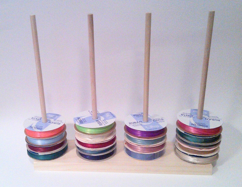Scrapbook Ribbon Holder Storage Rack Spool By Designsbyduane