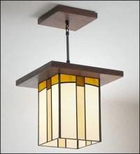 Craftsman Style Pendant light Hall Entryway & Kitchen