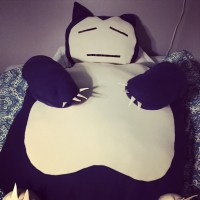 Snorlax oversized pillow