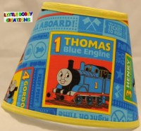Thomas Tank Engine Train Fabric Lamp Shade. You Choose the