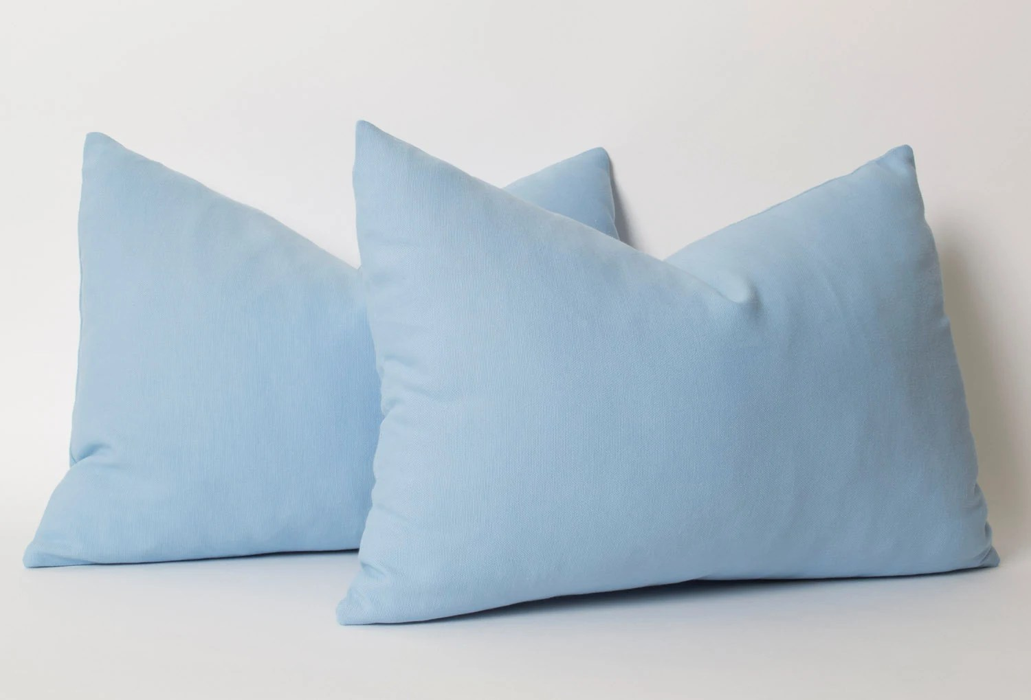 Kussen Lichtblauw Blue Pillow Cover Any Size Light Blue Pillow Cover Blue Pillow