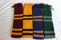 Hogwarts Scarves All Houses. Custom Available.