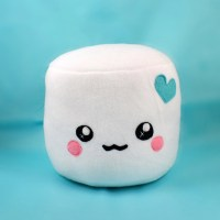 Marshmallow plushie pillows cushions chocolate dipped by ...