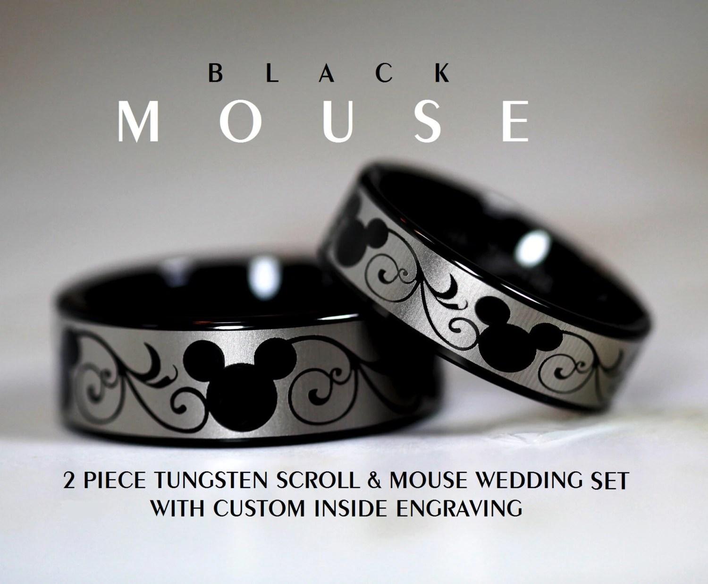 mickey mouse wedding rings disney wedding ring mickey mouse wedding rings