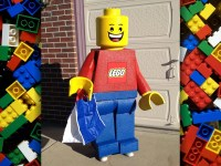 LEGO Minifigure Costume. Made to order life-size freestanding