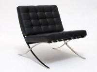 Iconic Barcelona Chair Mid Century Modern 1929