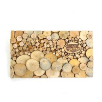 Abstract Wall Art Rustic Wooden Wall Art Tree Slice Decorative