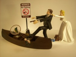 Small Of Wedding Cake Toppers Funny