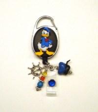 Donald Duck Disney Retractable Reel ID Badge Holder by ...