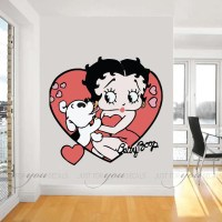 Betty Boop Wall Decals - Bing images