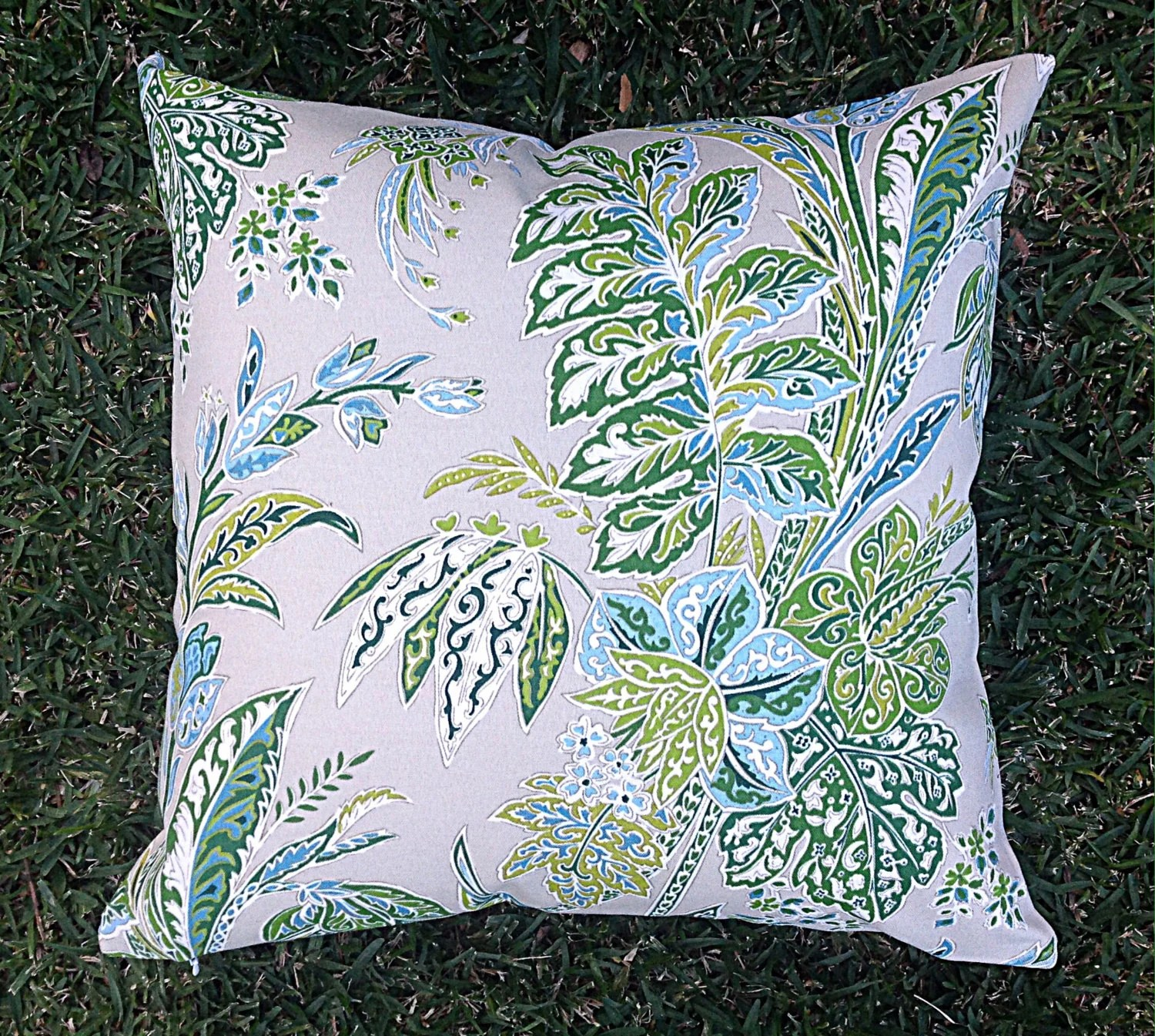 Boho Cushions Australia Floral Green Outdoor Cushions Outdoor Pillows Tropical Boho