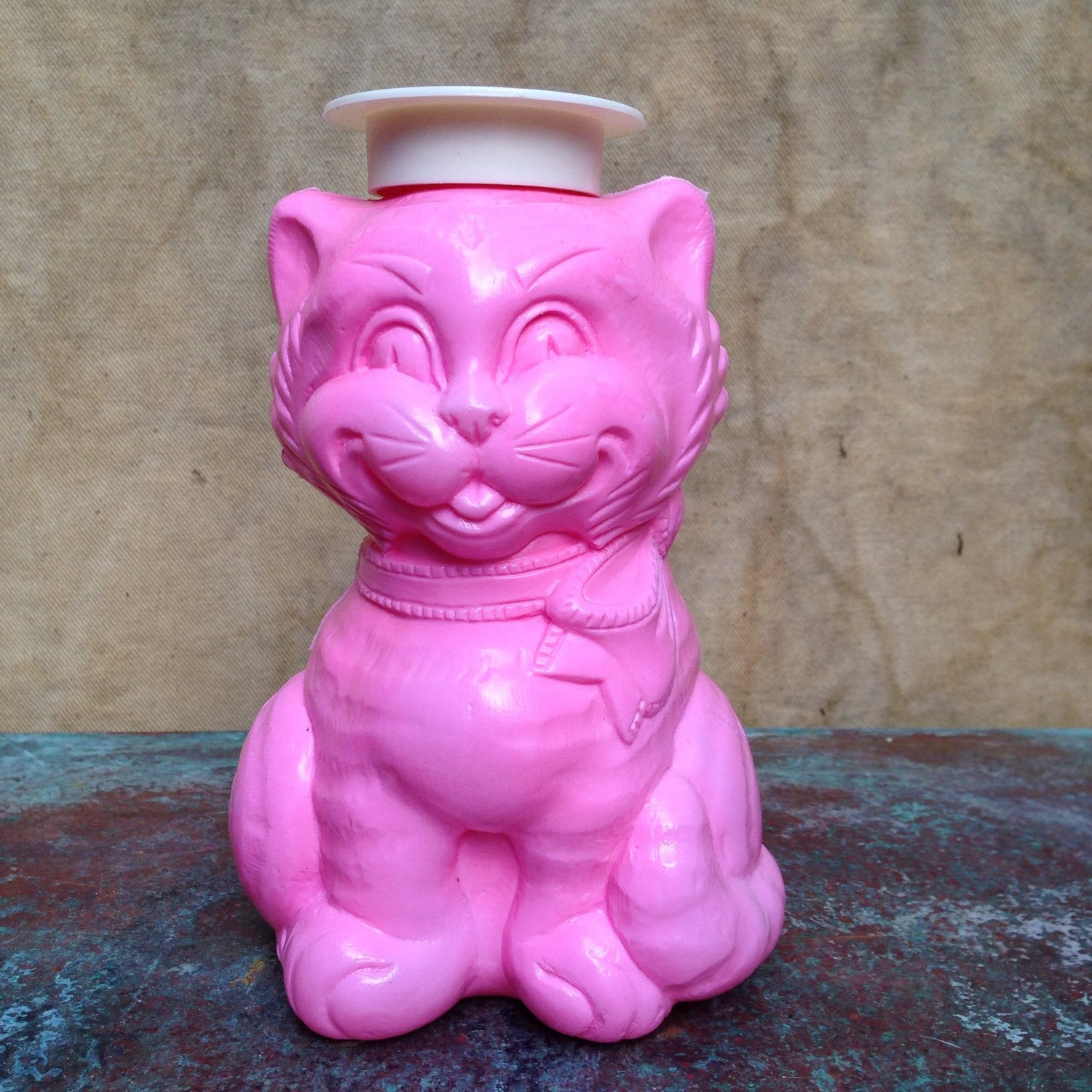 Pink Plastic Piggy Banks Kitty Cat Bank Pink Plastic Coin Bank Money Saving Kids Room