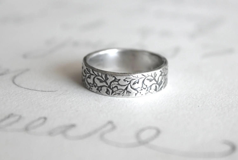 unisex wedding band ring engraved unisex wedding bands zoom