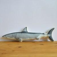 Silkscreen Shark Pillow