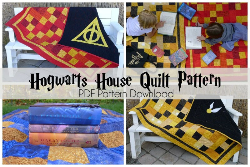 Fascinating by harry potter quilt by harry potter quilt twelve inch