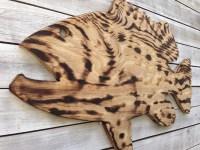 Large Wall Fish Decor Outdoor Wall Art, Custom Wood ...
