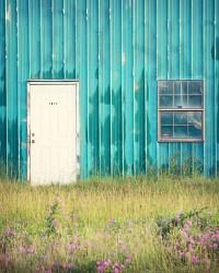 Farmhouse Wall Decor Teal Wall Art Rustic by ...