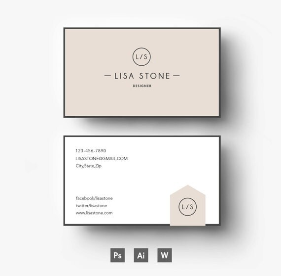 Modern template  Business car CV template Cover - download resume template