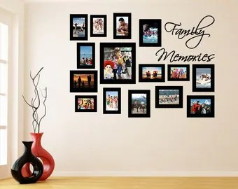 Frame wall decal