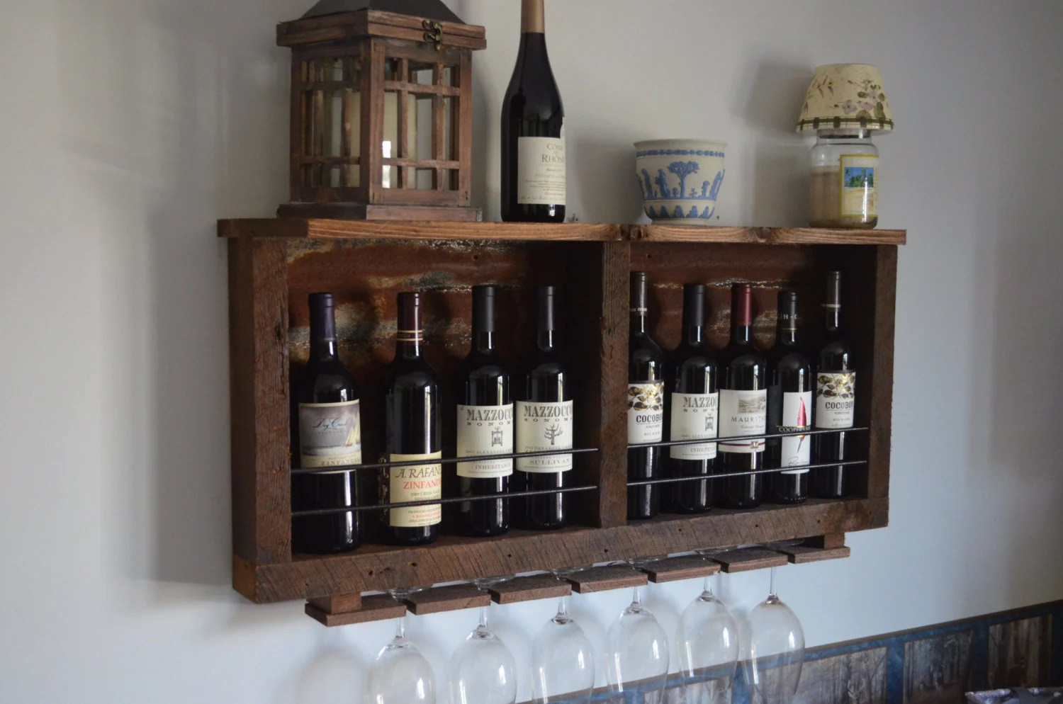 16 Cool Barn Wood Wine Rack Tierra Este