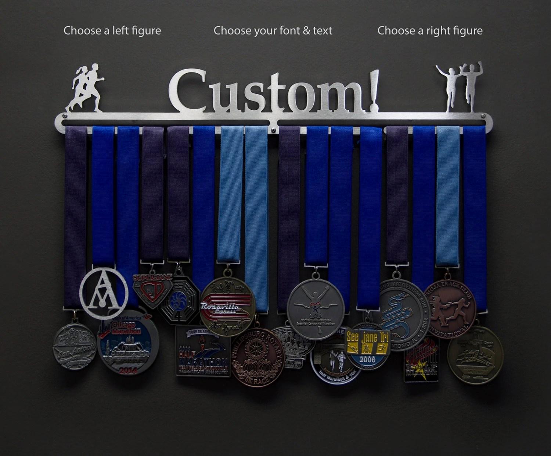 Personalized Medal Holder Allied Medal Hanger Holder Display