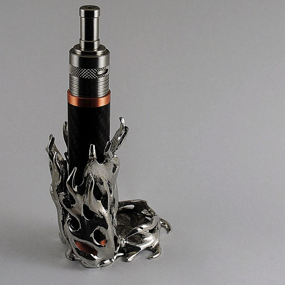 Flame vape holder mechanical mod stand holder Made in America