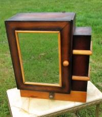 Vintage art deco Medicine Wall Bathroom Cabinet Mirror
