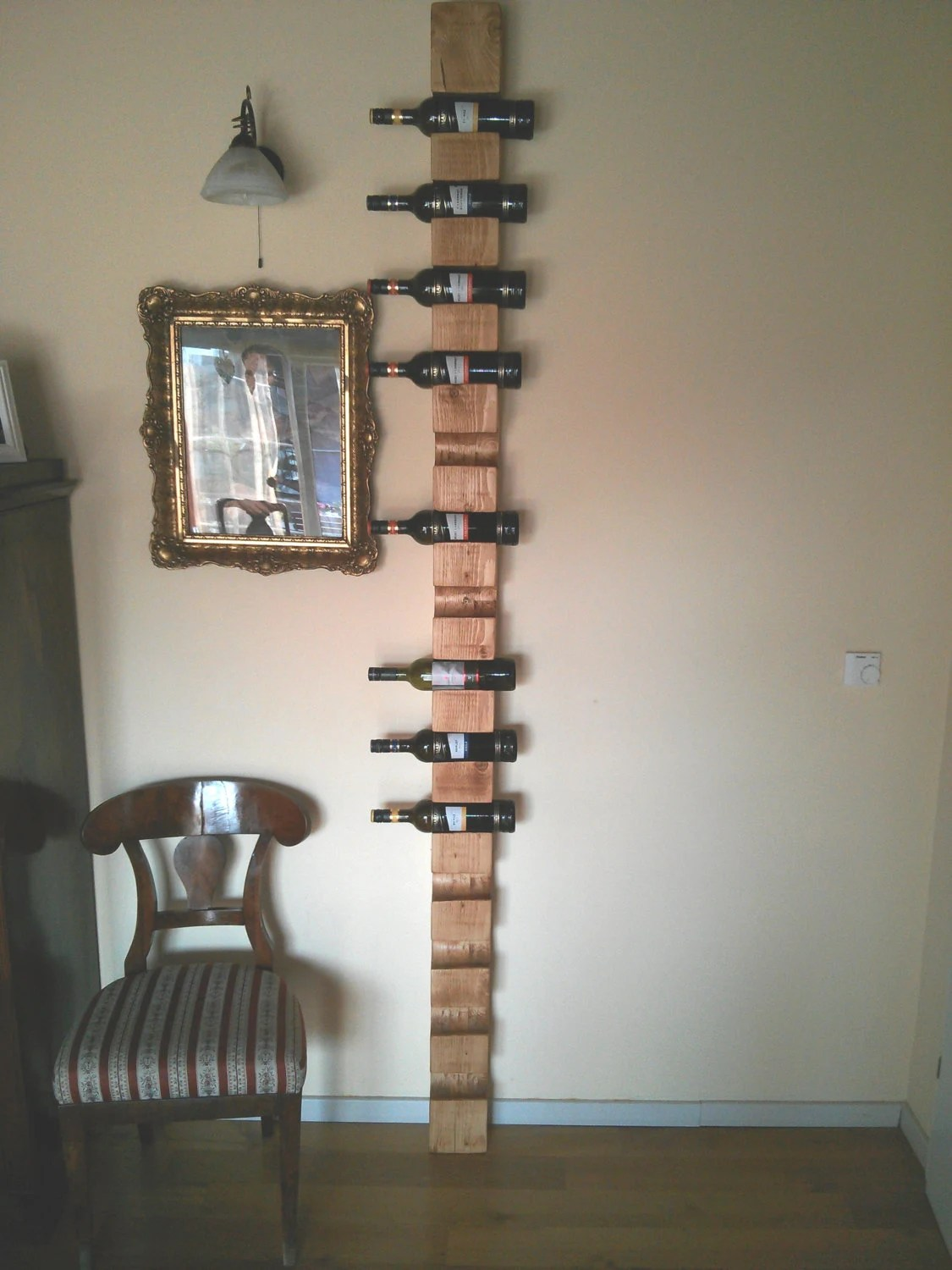 Long Wall Wine Rack Very Long Wall Wine Rack For 14 Bottles From By Vugecwoodworks