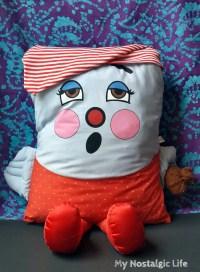 Vintage Mr. SandMan Pillow People 1985 Plush Toy